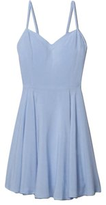 Aritzia short dress Blue Skater Sweetheart on Tradesy