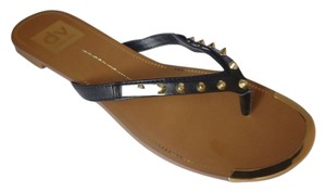 Dolce Vita Leather Sandal Black Stella Sandals