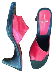 Paolo red Sandals
