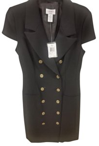 Carmen Marc Valvo Size 4 New With Tags Buttons Dress