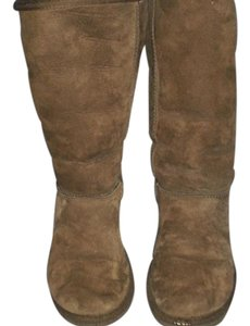 1554ef20127 UGG Australia Chestnut Daley Tall Suede Boots/Booties Size US 9.5 ...