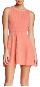 Trina Turk Knit Eyelet Sleeveless Dress