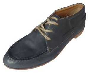 Dolce Vita Leather Oxford Black Nubuck Flats