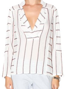 Plenty by Tracy Reese Top White, coral, blue