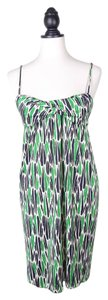 Diane von Furstenberg Dvf Silk Print Dress