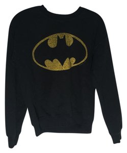 Junk Food Batman Grunge Edgy Oversized Sweatshirt
