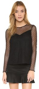 Rag & Bone Charlotte Top Black