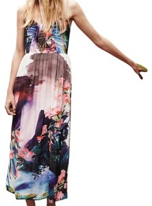 Multi Floral Maxi Dress by Anthropologie