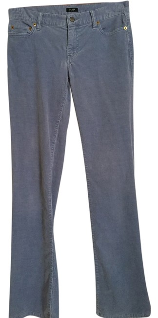 J.Crew Corduroy Style 70318 Boot Cut Pants Slate Blue