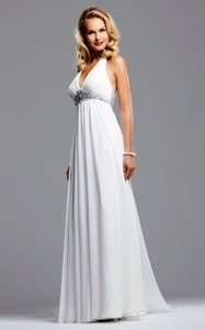 Faviana For David Tutera Marilyn B174 Ivory With Crystals Wedding Dress