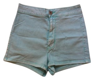 Bullhead Denim Co. High-waisted Shorts Blue