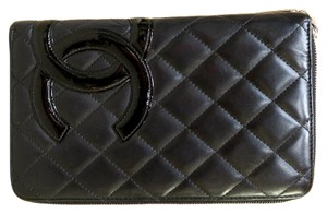 Chanel Chanel Ligne Cambon Organizer Zip Around Wallet