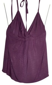 Theory purple Halter Top