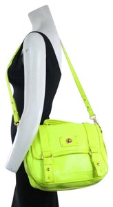 Marc by Marc Jacobs Neon Leather Shoulder Bag