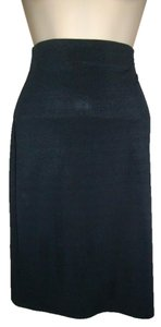 Jeanette Kastenberg Knee Length Career Skirt Black