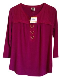 Anne Klein Top Berry