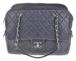 Chanel Calfskin Classic Shoulder Bag