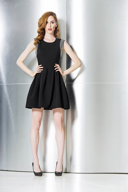 Kaii Designer Fall 2015 Yet Embellished Sexy Sleek Fitting Buisness Boss Cute Form Fitting Coture Dress