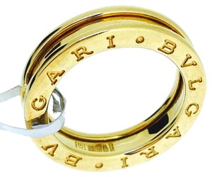 BVLGARI B.zero-1 18K Yellow Gold 1 Band Ring AN852260