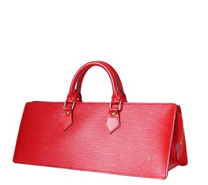 Louis Vuitton Lv Lv Tote in Red