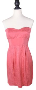 Twelfth St. by Cynthia Vincent Strapless Sweetheart Silk Dress