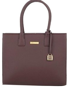 Iman Global Chic Work Office Tote in Chocolate