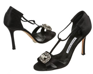 Manolo Blahnik Black Sandals