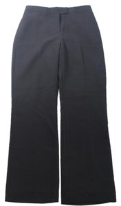 Tahari Ployester Suiting Material Straight Pants BLACK