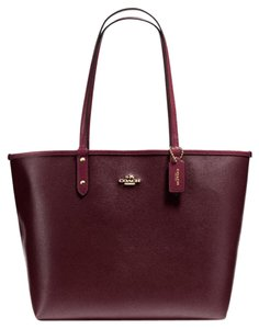Coach Nwt New With Tags Tote in Oxblood / Burgundy