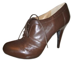 Bandolino Leather Platform Pump brown Boots