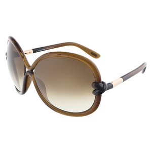 Tom Ford Tom Ford Brown Oversized Sunglasses