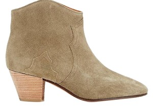 Isabel Marant Suede Olive Etoile Taupe Boots
