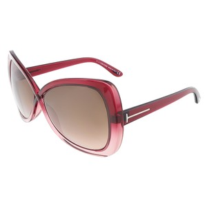 Tom Ford Tom Ford Pink Gradient Butterfly Sunglasses