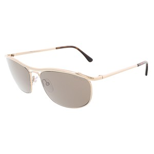 Tom Ford Tom Ford Pale Gold Aviator Sunglasses