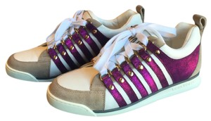 Dsquared2 Purple White Gray Athletic