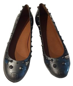 Marc by Marc Jacobs Pewter Flats