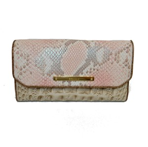 Brahmin Python Multi Leather Checkbook Wallet