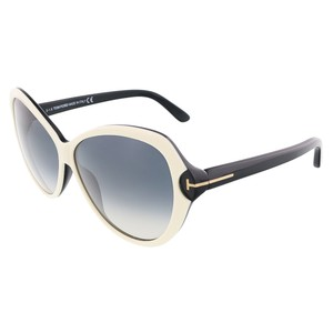 Tom Ford Tom Ford Ivory/Black Butterfly Sunglasses