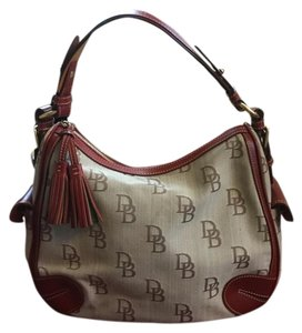 Dooney & Bourke Satchel in Red Trim