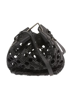 3.1 Phillip Lim Holes See-through Bucket Shoulder Bag
