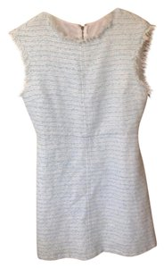 Alice + Olivia Fringe Tweed Dress