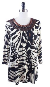 Others Follow Chicos Travelers Ivory Tunic