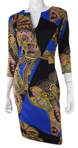 Etro Sheath Print Bodycon Dress