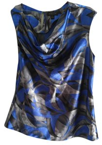 Mary Kay Top Blue-Silver