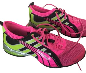 Puma Pink & lime punch Athletic