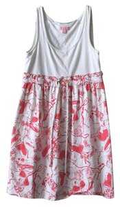 Lilly Pulitzer short dress White and Red on Tradesy