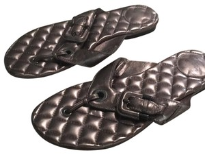 Burberry Pewter Sandals