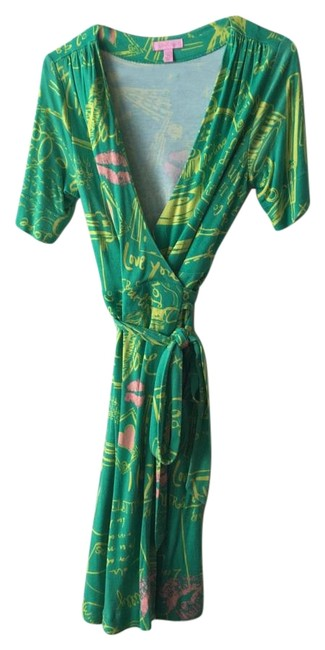 5b0bf18dbec lovely Lilly Pulitzer Green, Yellow, Pink Dress - conferintalm ...
