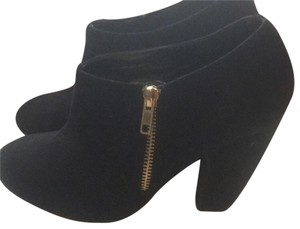 Maurices Black with gold Zipper! Boots
