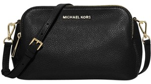 Michael Kors Black/Gold Messenger Bag